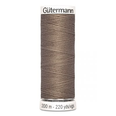Brown sewing thread Gütermann 199