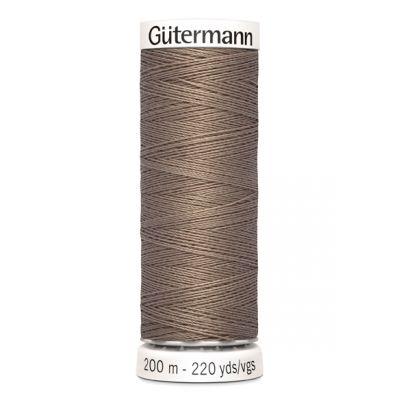 Fil à coudre beige Gütermann 199