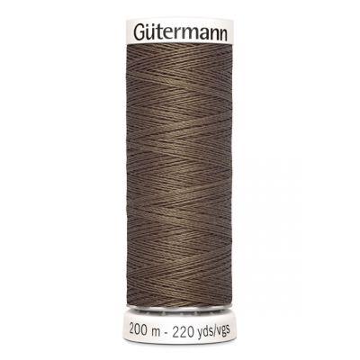 Fil à coudre brun Gütermann 209