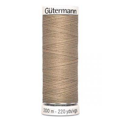 Fil à coudre beige Gütermann 215