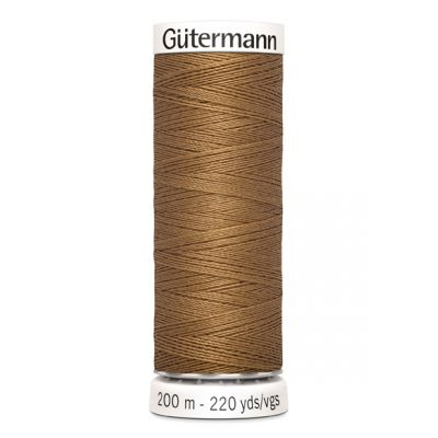 Fil à coudre brun Gütermann 887