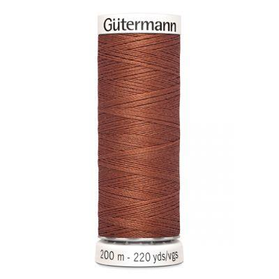 Fil à coudre brun Gütermann 847