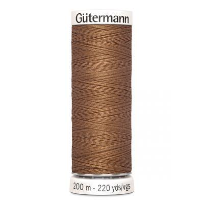 Brown sewing thread Gütermann  842