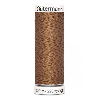 Fil à coudre brun Gütermann  842