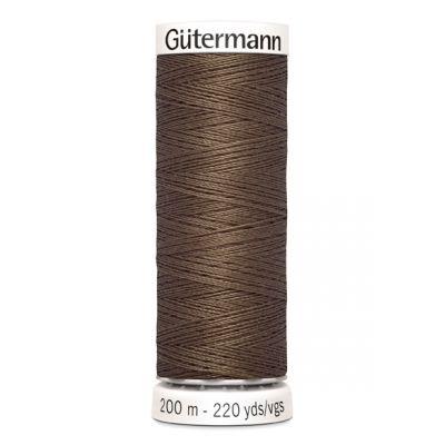 Brown sewing thread Gütermann 815