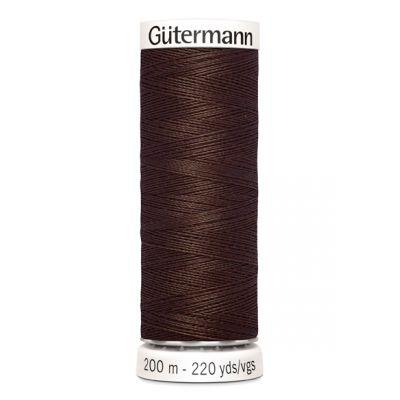 Brown sewing thread Gütermann 694