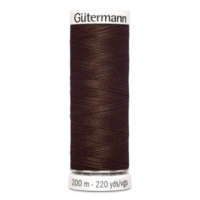 Fil à coudre brun Gütermann 694