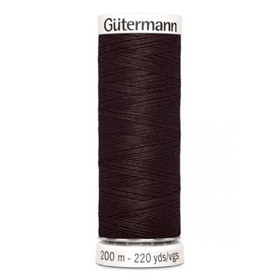 Fil à coudre brun Gütermann 696