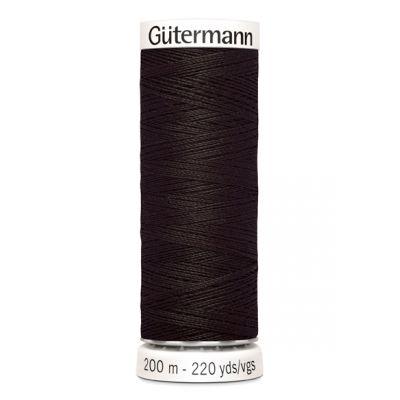 Brown sewing thread Gütermann 697