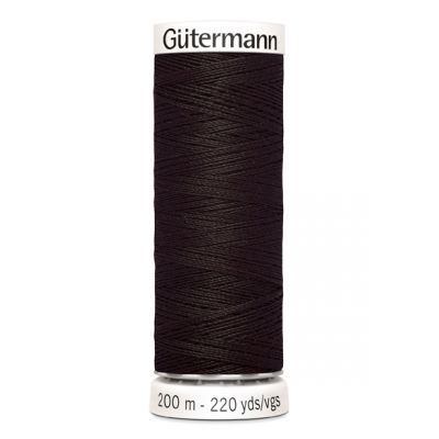 Fil à coudre brun Gütermann 697
