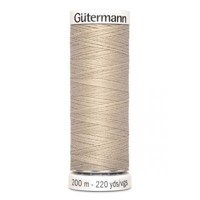 Fil à coudre beige Gütermann 722