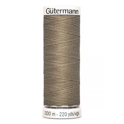 Fil à coudre beige Gütermann 724
