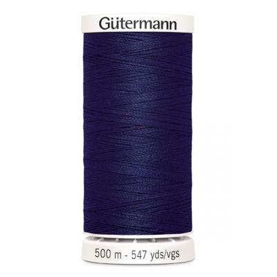Fil à coudre bleu 500m Gütermann 310