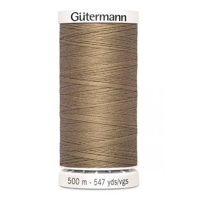 Fil à coudre beige 500m Gütermann 139