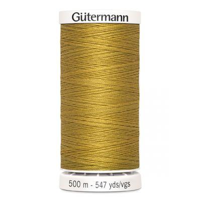 Fil à coudre jaune 500m Gütermann 968