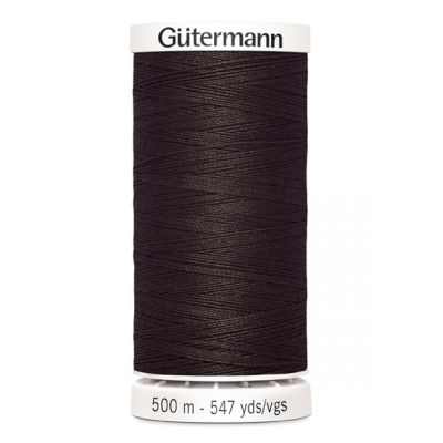 Brown sewing thread Gütermann 696