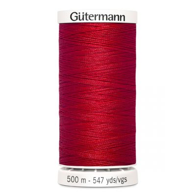 Red sewing thread Gütermann 156