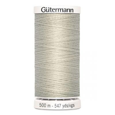 Fil à coudre beige 500m Gütermann 299