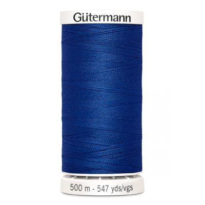 Blue sewing thread  Gütermann 214