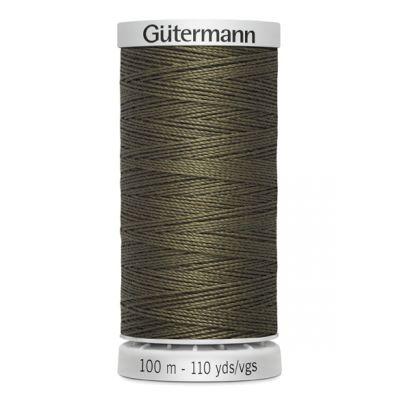 fil à coudre extra fort brun Gütermann 676