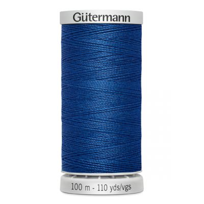 Blue Extra Strong sewing thread Gütermann 214