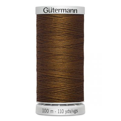 Brown Extra Strong sewing thread Gütermann 650