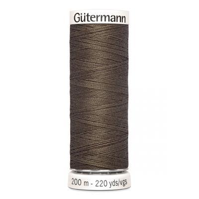 Fil à coudre brun Gütermann 467