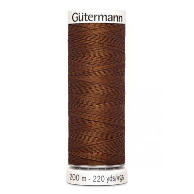 Fil à coudre brun Gütermann 650