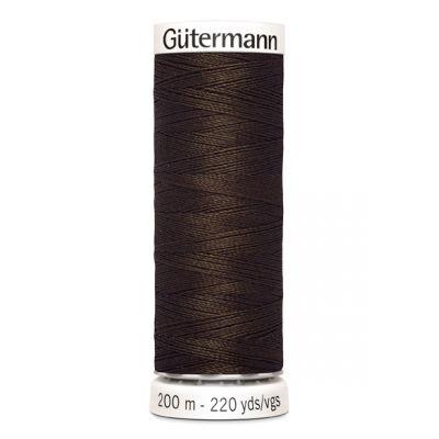 Fil à coudre brun Gütermann 406
