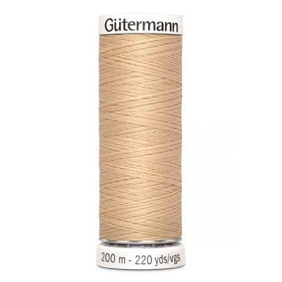 Fil à coudre beige Gütermann 421