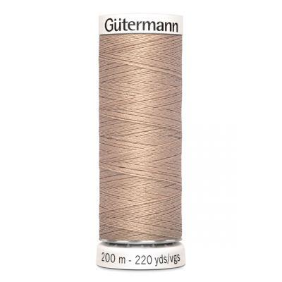 Fil à coudre beige Gütermann 422