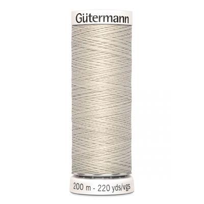 Fil à coudre beige Gütermann 299