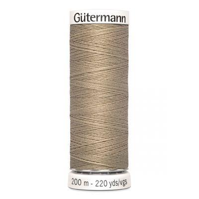 Fil à coudre beige Gütermann 464