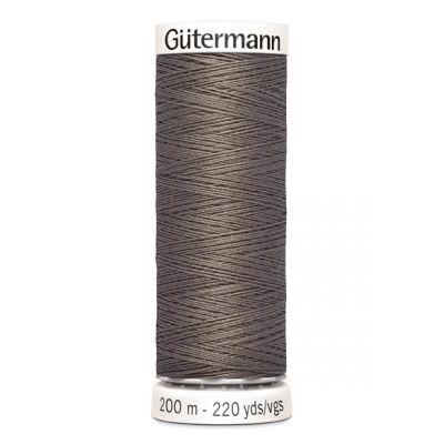 Brown sewing thread Gütermann 669
