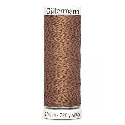 Fil à coudre brun Gütermann 444