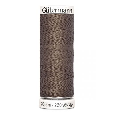 Fil à coudre brun Gütermann 439