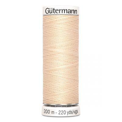 Fil à coudre beige Gütermann 5
