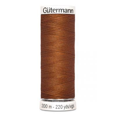 Brown sewing thread Gütermann 649