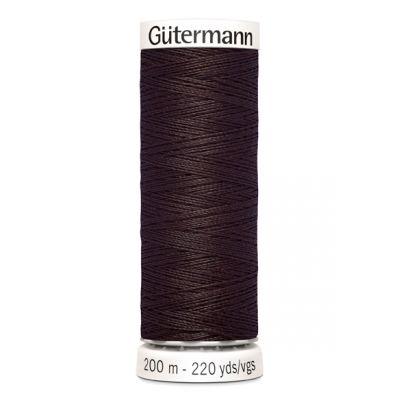 Brown sewing thread Gütermann 23