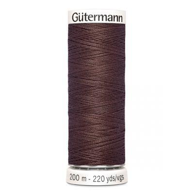 Brown sewing thread Gütermann 446
