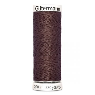 Fil à coudre brun Gütermann 446