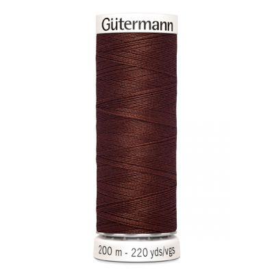 Fil à coudre brun Gütermann 230