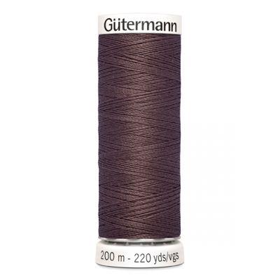 Fil à coudre brun Gütermann 423