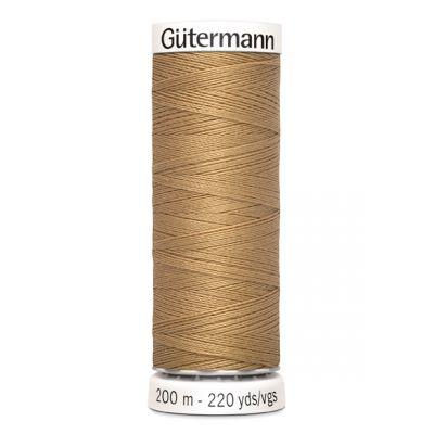 Fil à coudre beige Gütermann 591