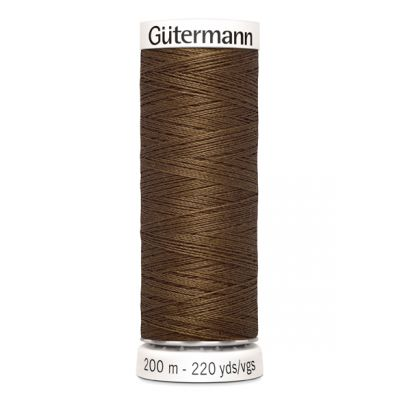 Brown sewing thread Gütermann 289