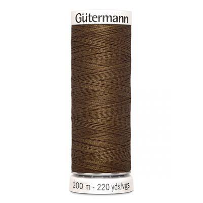 Fil à coudre brun Gütermann 289