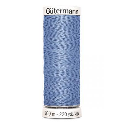 Fil à coudre bleu Gütermann 74