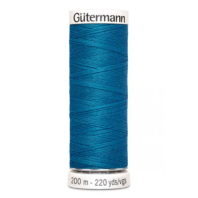 Fil à coudre bleu Gütermann 482