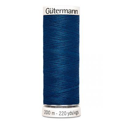 Blauwe naaigaren Gütermann 967