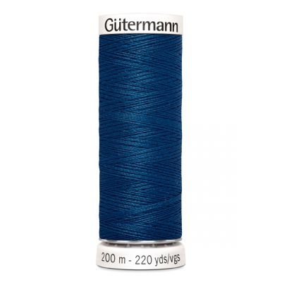 Fil à coudre bleu Gütermann 967